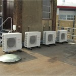 Roof mounted A/C units