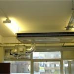 Fujutsu A/C and ventilation unit